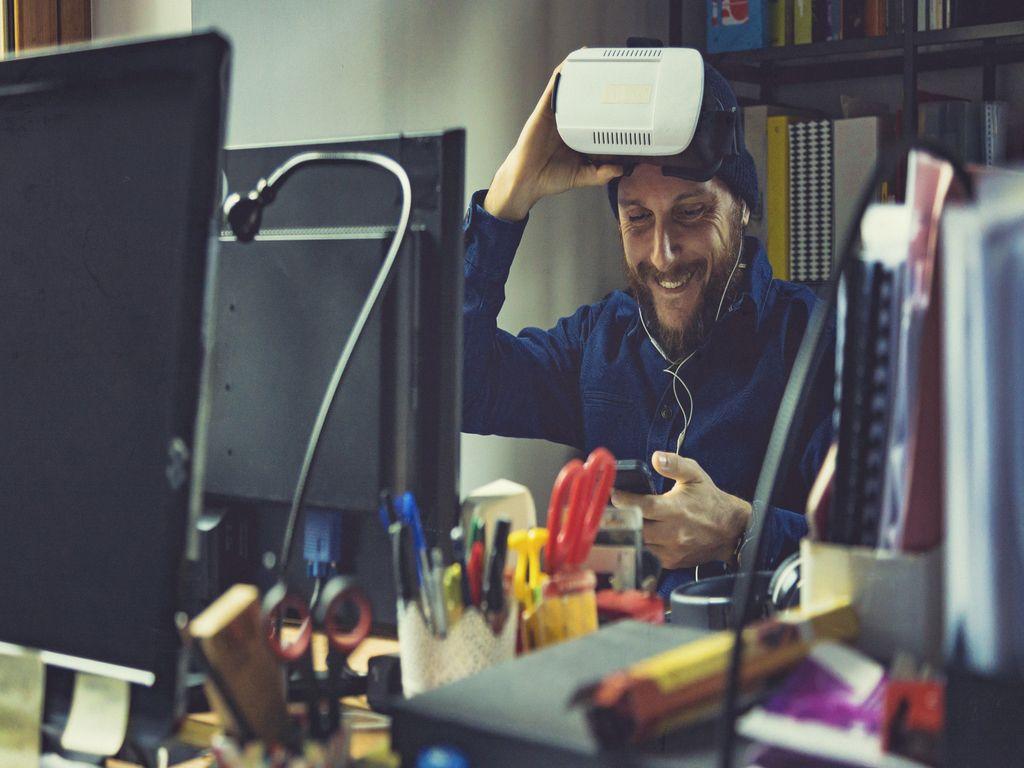 AR/VR Erweiterte Realität und virtuelle Realität